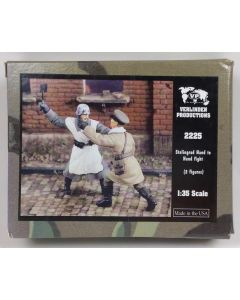 Verlinden Productions 2225 Stalingrad Hand-to-Hand Fight 1/35 Scale Resin Figures