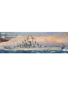 Very Fire VF350918DX US Heavy Cruiser Des Moines Deluxe Edition 1/350 Scale Kit
