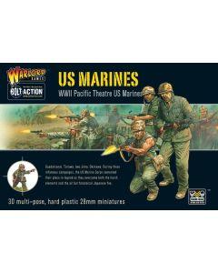 Bolt Action US Marines Multipose Hard Plastic 28 mm Miniatures
