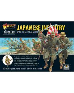 Bolt Action Japanese Infantry Multipose Hard Plastic 28 mm Miniatures