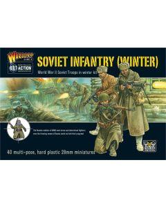Bolt Action Soviet Infantry Multipose Hard Plastic 28 mm Miniatures