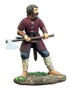 William Britain 62117 'Carl' Saxon/Viking Warrior with Ax
