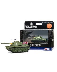 Corgi World of Tanks 91201 US M48 Patton Tank Diecast Model