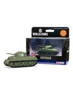 Corgi World of Tanks 91202 US Sherman Tank Diecast Model