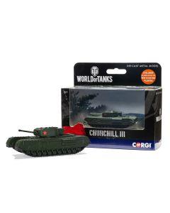 Corgi World of Tanks 91204 British Churchill Mk III Tank Diecast Model