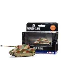 Corgi World of Tanks 91207 German King Tiger Tank Diecast Model