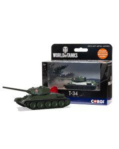 Corgi World of Tanks 91208 Soviet T-34 Tank Diecast Model