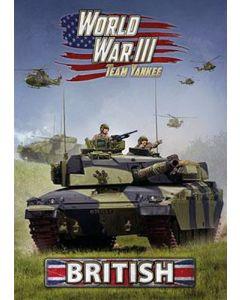 Battlefront WW302 World War III: Team Yankee British Reference Book