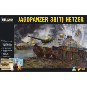 Bolt Action German Jagpanzer 38(t) Hetzer 1/56 Scale Military Wargaming Kit