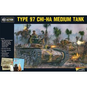Bolt Action Japanese Chi-Ha Tank 1/56 Scale Military Wargaming Kit