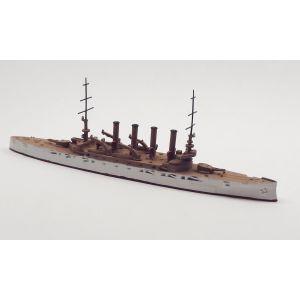 Navis 330 US Armored Cruiser Washington White/Buff 1906 1/1250 Scale Model Ship
