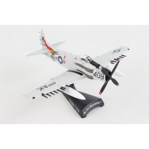 Postage Stamp 53643 A-1H Skyraider 'Papoose Flight' 1/110 Scale Diecast Model