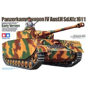 Tamiya 35209 Pz.Kpfw. IV Ausf. H Early Production Version 1/35 Scale Model Kit