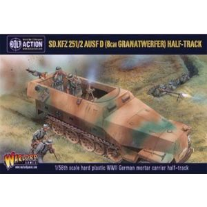 Bolt Action German Sd.Kfz 25 1/2 Ausf D 1/56 Scale Military Wargaming Kit
