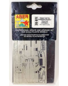 Aber 35071 Upper Hull Detail Set for Panzerjaeger I 1/35 Scale Photoetch
