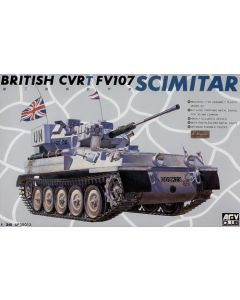 AFV Club 35013 FV107 Scimitar Armored Recon Vehicle 1/35 Scale Model Kit