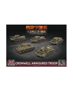 Battlefront BBX57 Cromwell Armoured Troop Plastic Gaming Miniatures
