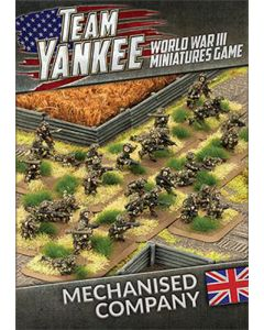 Battlefront TBBX10 British Mechanised Company (69 Soldiers) Gaming Miniatures