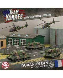 Battlefront TFRAB1 Durand's Devils (3 Tanks, 2 Helos) Plastic Gaming Miniatures