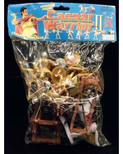 Caesar Knights & Catapults Bagged Playset - 7 Figures & 2 Catapults 1/32 Scale