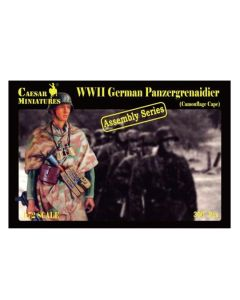 Caesar Miniatures 7717 Panzergrenadiers with Camouflage Cape 1/72 Scale Figures