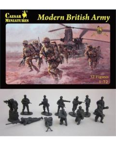 Caesar Miniatures H060 Modern British Army Soldiers 1/72 Scale Figures
