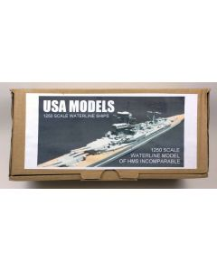 USA Models MSM002DL British Proposed Battlecruiser Incomparable 1/1250 Scale Kit