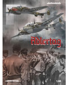 Eduard 11145 Bf110C/D 'Adlertag' 1/48 Scale Limited Edition Plastic Model Kit