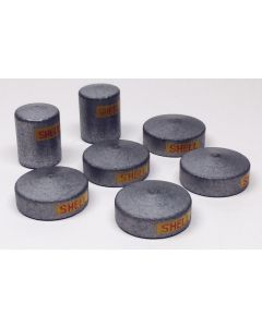 7 Large Oil Storage Tanks (2 Tall 5 Short & Wide) 1/1250 Scale