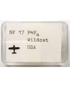 Neptun FB 17 US F4F-4 Wildcat 1/1250 Scale Model
