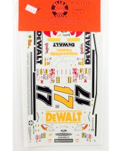 Slixx Decals 1514 #17 Matt Kenseth DeWalt Taurus NASCAR Model Kit Decal Set
