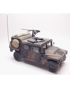 US Army Humvee with M2 Heavy Machine Gun Built-Up 1/35 Scale Model Kit