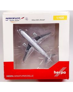Herpa Wings 562379 Aeroflot Airbus A320 'Retrojet' 1/400 Scale Diecast Model