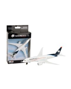 Aeromexico Airliner Toy Airplane Diecast with Plastic Parts