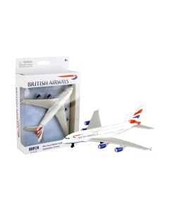 British Airways Airbus A380 Airliner Toy Airplane Diecast with Plastic Parts