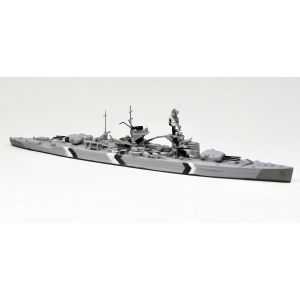 Neptun T1035 German Heavy Cruiser Lutzow Camouflaged 1940 1/1250 Scale Model