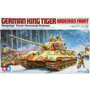 Tamiya 35252 WWII German King Tiger 'Ardennes Front' 1/35 Scale Model Kit