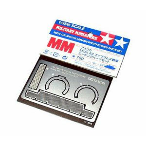 Tamiya 35273 US M1A1/A2 Photo Etched Detail Parts for 1/35 Scale Model Kits